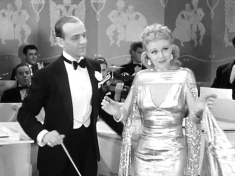 """Roberta (1935) """"I Won't Dance"""" - Fred Astaire Solo On Piano Then Joined By Ginger Rogers"""