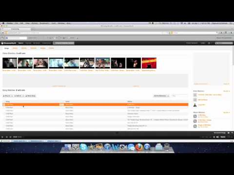 How to download Mp3s from Grooveshark for FREE (MAC and PC)