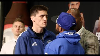 PATRICK TEIXEIRA v CURTIS STEVENS - HEAD TO HEAD @ FINAL PRESS CONFERENCE / CANELO v KHAN