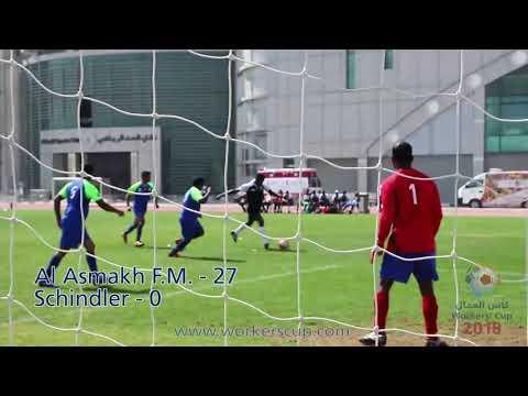 Match 45: Al Asmakh F.M. Vs. Schindler – Score 27-0