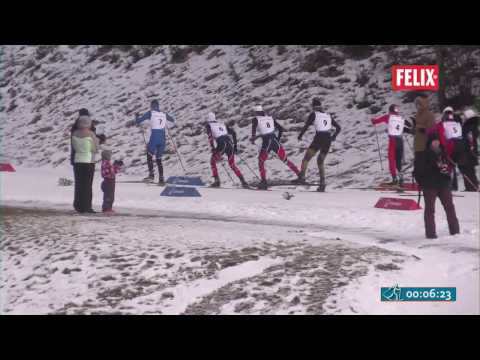 Nordic Combined Cross Country 10 km distance (4x2,5 km)  - 21.01.2017
