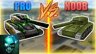 Pro vs Noob #2 (funny video) - Tanki Online - Ghost Animator TO