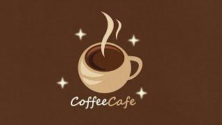 Professional Logo Design | Adobe Illustrator Tutorial | How To Make coffee Logo Design Style