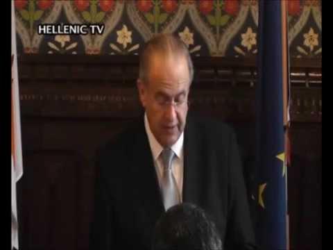 Cyprus FM Kasoulides - 10th Anniversary of Cyprus EU Accession