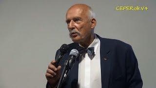 100% pytań do Janusza Korwin-Mikkego na spotkaniu w Siedlcach