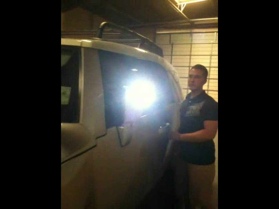 FJ Cruiser 4x4 Custom LED HighPowered OffRoad Fog Lights by Advanced Automotive Concepts  YouTube