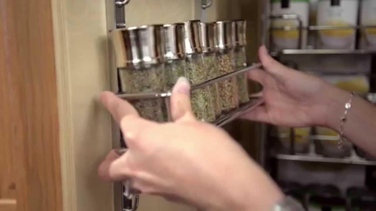 Lovely Adjustable Spice Rack   YouTube