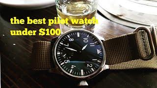 The Best Pilot Aviator Watch Under $100
