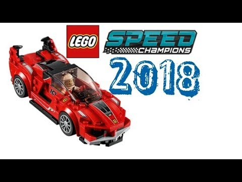 lego news lego speed champions 2018 sets new info porsche ford ferrari youtube. Black Bedroom Furniture Sets. Home Design Ideas