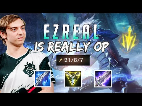 G2 Caps | CLAPS Is BACK! Is Lethal Tempo Ezreal OP Or Is It Just Me?!?
