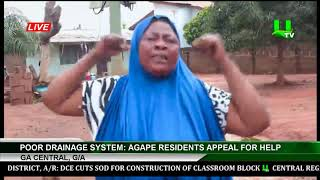 Poor Drainage System: Agape Residents Appeal For Help, Ga Central, G/A