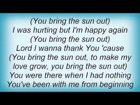 Kirk Franklin - Sunshine Lyrics