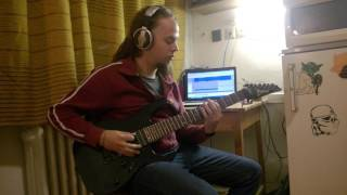 """Tesseract - """"Survival"""" guitar cover by Marcell Demeter"""
