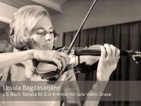 Ursula Bagdasarjanz plays Bach