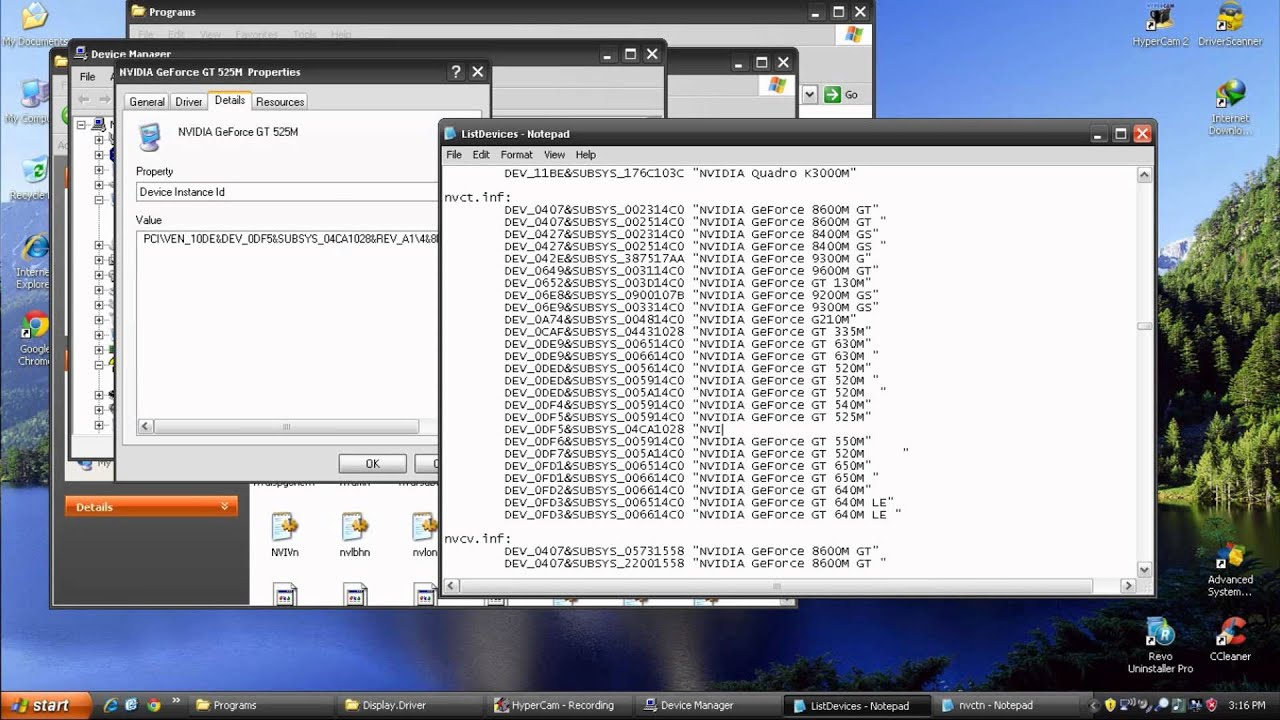 драйвер для nvidia для windows xp