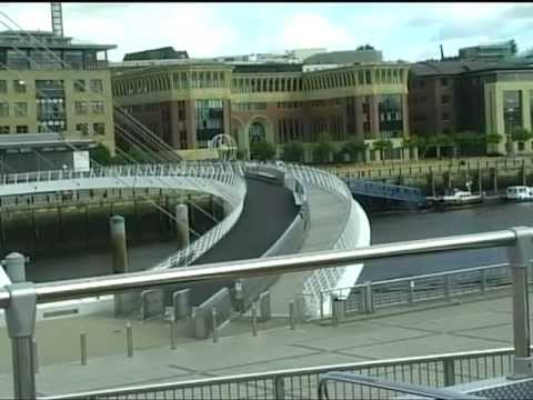 Top Deck Bus Tour of Newcastle and Gateshead 2007 Part 1
