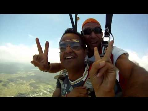 Sky Diving in Mauritius | Adventure Activities in Mauritius