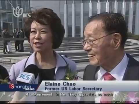 Shanghai Mulan Education Foundation    TV Coverage of 30 Year Anniversary Celebrations