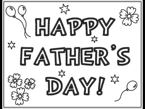 Fathers Day Free Coloring Pages for Kids, Free Coloring ...