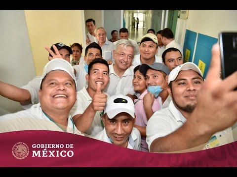 #IMSSBienestar | Diálogo con la comunidad del hospital rural Santiago Jamiltepec, en Oaxaca.