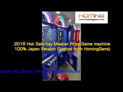 Supply 2016 No. 1 Profit Margin in Shopping Malls key master game machine (ken@hominggames.com)