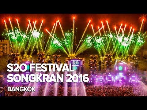 S2O Songkran Music Festival 2016 - Bangkok, Thailand
