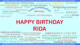 Rida   Languages Idiomas - Happy Birthday