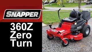 2018 Snapper 360Z 48 inch Zero Turn Mower