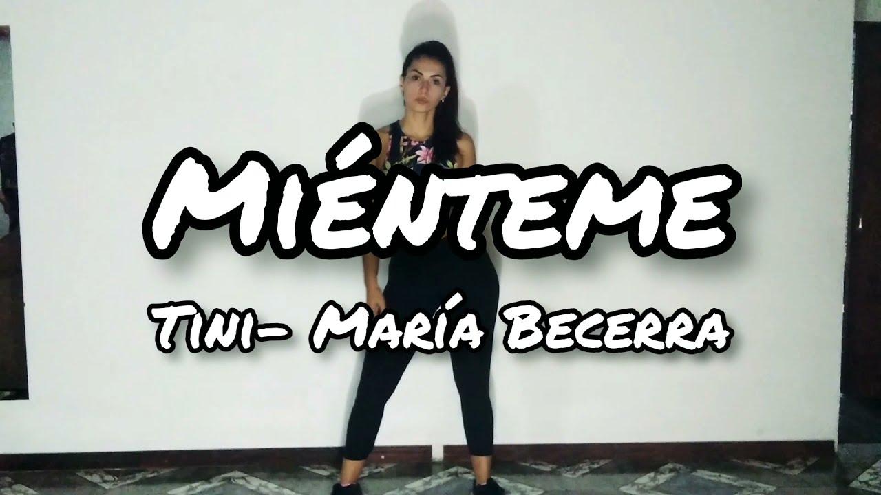 Miénteme , TINI - María Becerra/Coreo Dance & Fit Gi Gi Rosales.