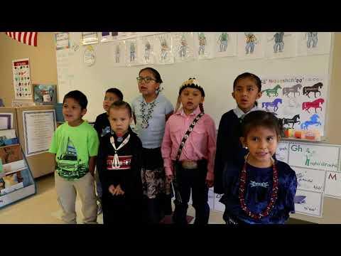 Rough Rock Community School: Kids Singing