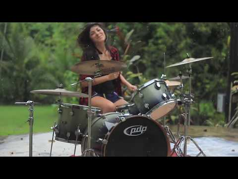 Nirvana - Breed - Drum Cover | By Paulina Vera