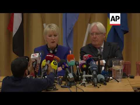 Yemen peace talks underway in Sweden