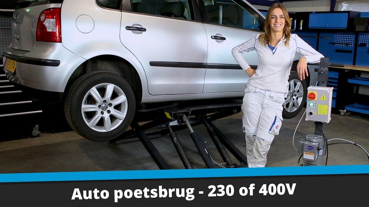 Wonderbaarlijk Auto poetsbrug tot 2800 kilo | Datona.nl - YouTube CM-77