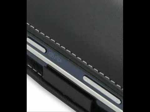 PDair Leather Case for Samsung Glyde SCH-U940 - Flip Black