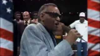 America The Beautiful - Ray Charles - Leonard vs. Durán II