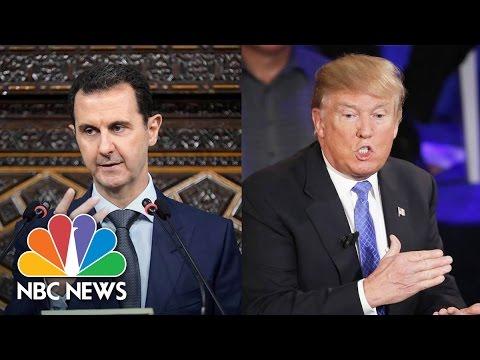President Donald Trump's Options Against The Assad Regime | NBC News