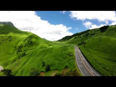 「別府湾」「由布岳」「湯布院」の眺望 by Mei Assy on YouTube