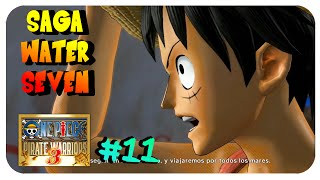One Piece Pirate Warriors 3 : WATER SEVEN, LA CIUDAD DEL AGUA - FRANKY  #11