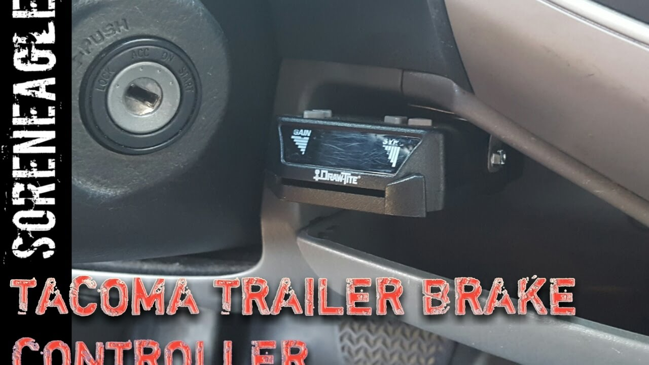 Tacoma 2nd Gen Trailer Brake Controller Install Towing Diy