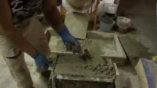 ИЗГОТОВЛЕНИЕ БЛОКОВ(Технология изготовления строительных блоков в домашних условиях., 2012-11-26T13:40:01.000Z)