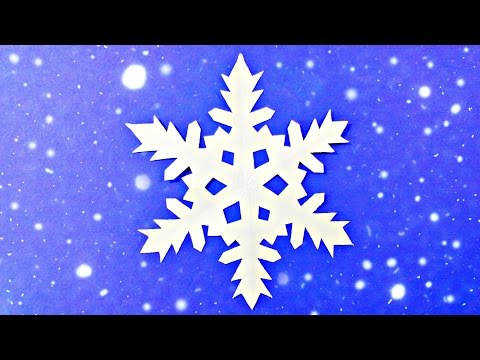 Origami Snowflake Easy Frozen Tutorial Paper Instructions New Year Christmas Diy Paper S