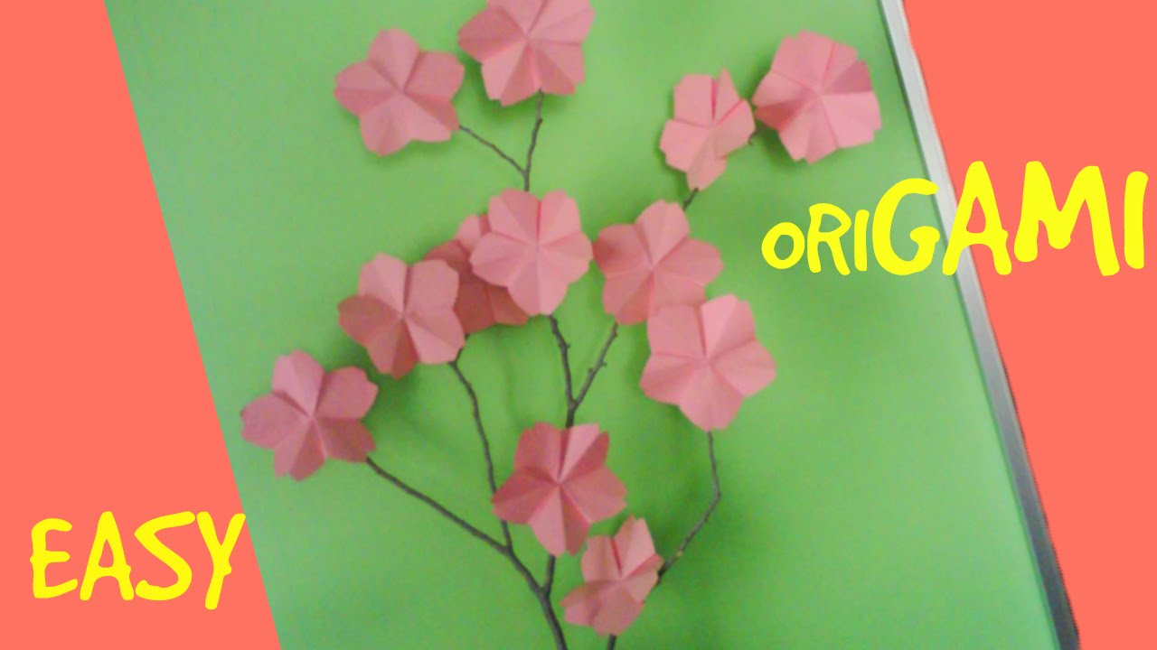 Easy Origami Crafts: How to Make an Easy Origami Cherry ... - photo#28