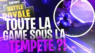TRAVERSER TOUTE LA MAP DANS LA TEMPÊTE ?! SOLO VS SQUAD 23 KILLS (Fortnite Battle Royale)