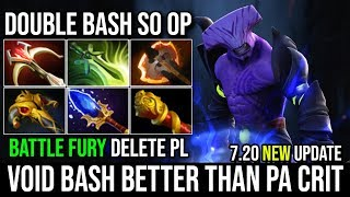 Battle Fury [Faceless Void] His New Bash is Even Greater Than PA Crit Easy Counter PL 23KIlls Dota 2