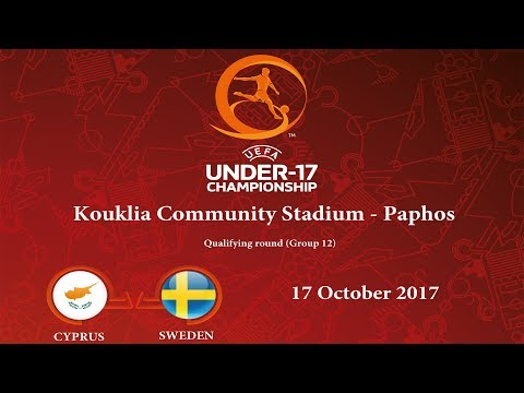 Cyprus - Sweden U-17 (Group 12), 17.10.2017