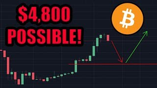 🔴Bitcoin Could EASILY Drop to $4800 In The Next Few Weeks. I Am Still Bullish!