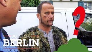 Busch rennt durch den Garten? Spinnt er total? | Auf Streife - Berlin | SAT.1 TV