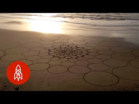 Lines in the Sand: When The Beach Becomes a Canvas