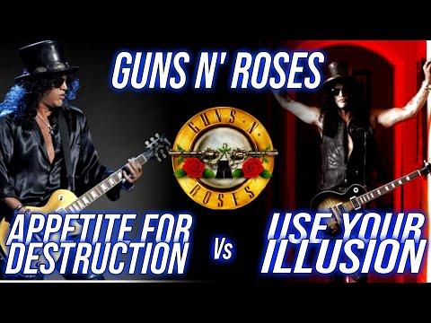 Guns N' Roses Appetite For Destruction vs Use Your Illusion | Guitar Gladiators