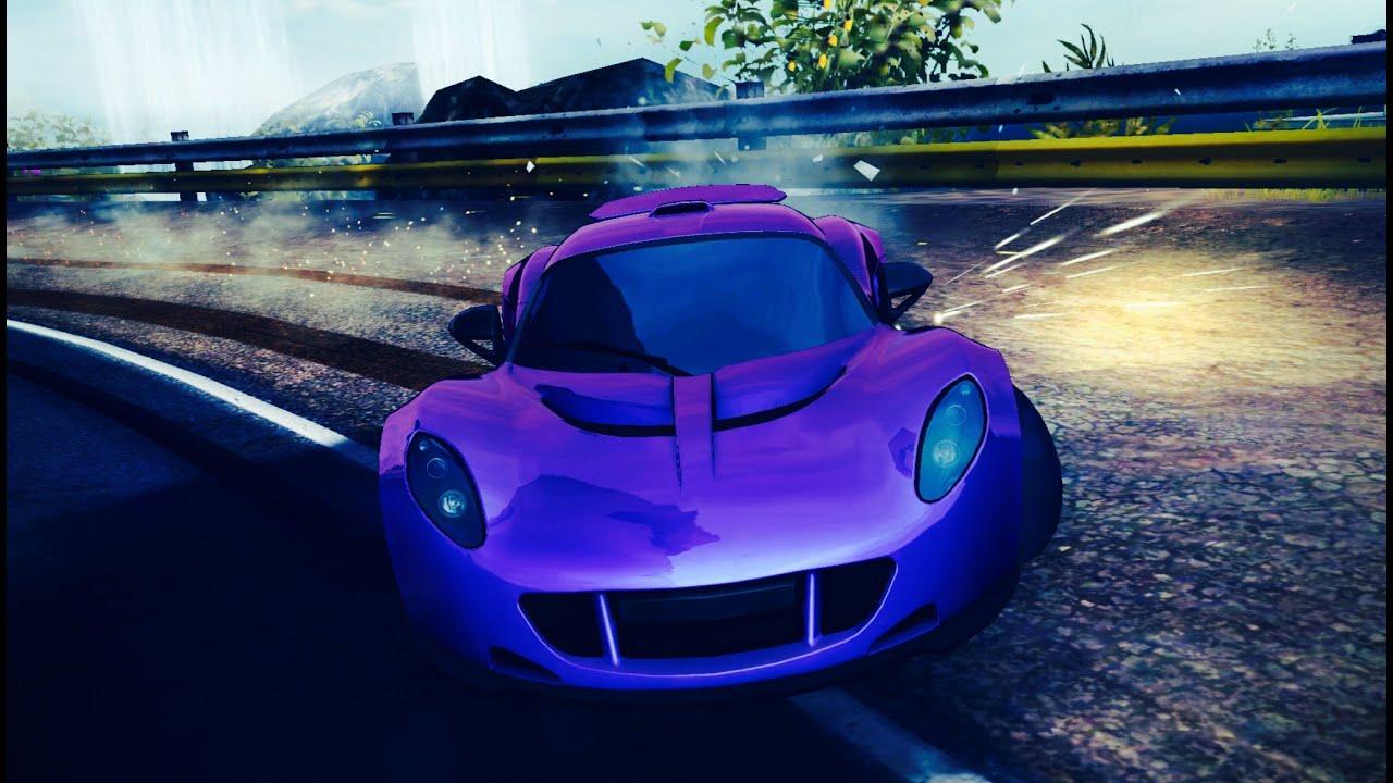 Purple Hennessey Venom Gt >> Asphalt 8 Hennessey Venom Gt Iceland 1 22 492 Youtube